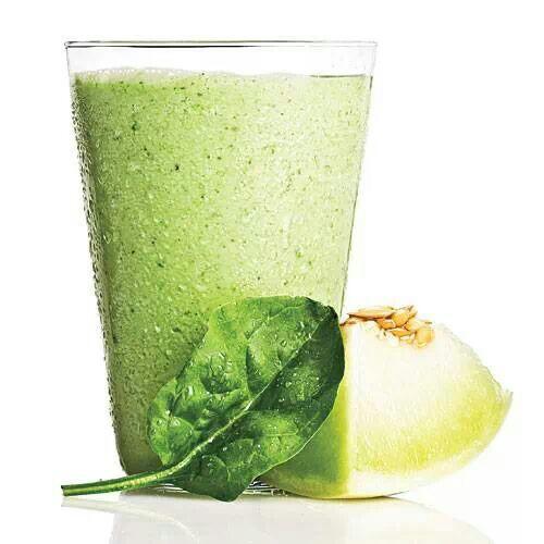 Spinach Honeydew Yogurt