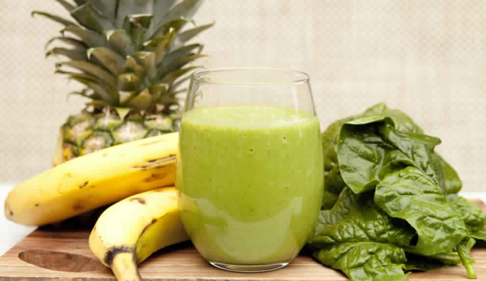 Spinach Pineapple Banana